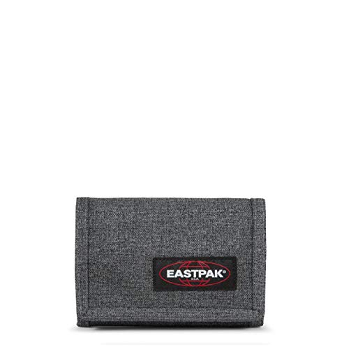 Eastpak Crew Single Geldbörse, 13 cm, Grau (Black Denim)