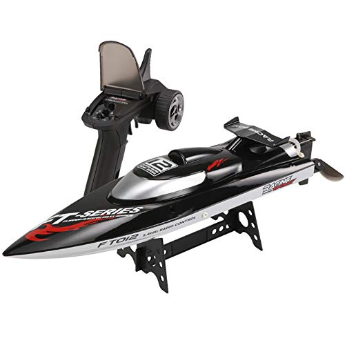 RC Boat Remote Control Boat for Kids and Adults 15 MPH Speed Durable Structure Waves Pool Or Lake Racing 2.4 Ghz Remote Control
