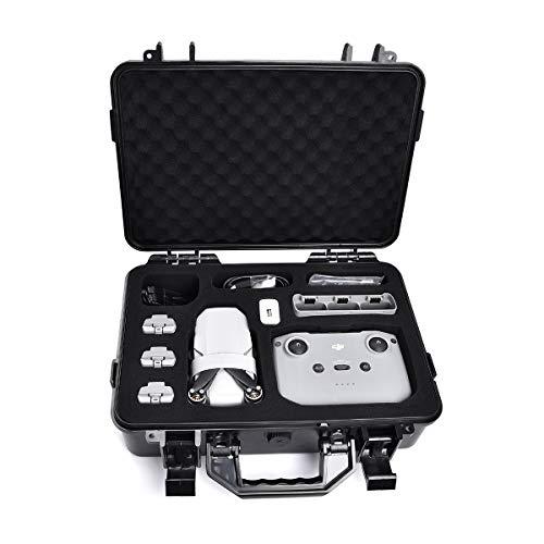 Supfoto Custodia da viaggio per DJI Mini 2 impermeabile custodia rigida da viaggio per DJI Mini 2 Drone e accessori impermeabile scatola di immagazzinaggio con inserto in schiuma