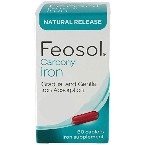 FeosolNatural Release, Carbonyl Iron, 45 mg, 60 Count