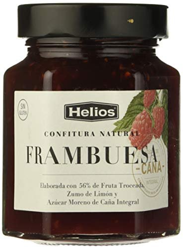 Helios Confitura Natural Frambuesa - 330 gr