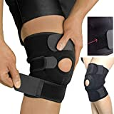 Slyk Knee Support, Open-Patella Stabiliser & Fully-Adjustable Neoprene Brace – Arthritic Pain Relief