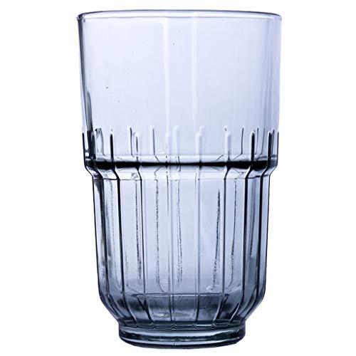 Vasos de Agua Whisky Glasses, Clear vidrios de consumición, Vasos de Zumo, Bebidas, cóctel, Tazas de Vidrio (2pcs) Vasos de Cristal