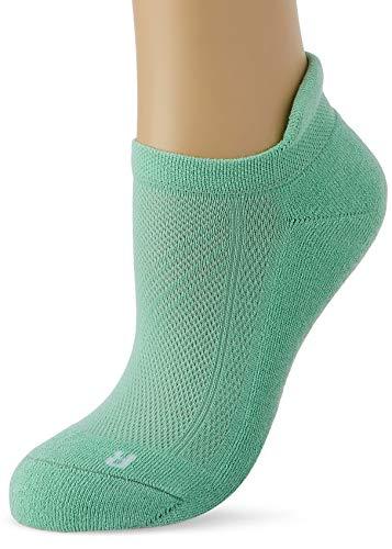 FALKE Damen Sneakersocken Cool Kick, Polyester, 1 Paar, Grün (Jade 7188), 37-38 (UK 4-5 Ι US 6.5-7.5)