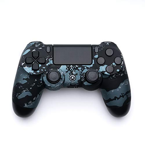 AimControllers - Custom PS4 Controller - DualShock 4 - Sony Playstation 4 Konsole Personalisiert Gamepad - Camo Grey