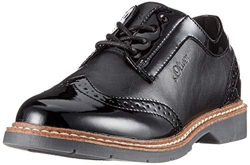 s.Oliver Damen 5-5-23604-24 Sneaker, Schwarz (Black Comb 098), 40 EU