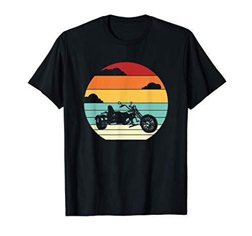 Dreirad Motorrad Tricycle Trike Motorrad Threewheeler T-Shirt