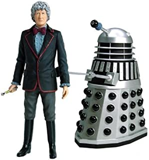 The Third Doctor Who with Dalek Action Figure