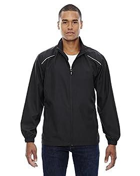 Core 365 Mens Motivate Unlined Lightweight Jacket  88183 - Black 703,XXXX-Large