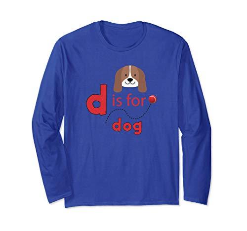 D es para diseño de pelota de tenis para perros Manga Larga