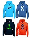 4 Kinder Hoodies Kapuzensweatshirts Füllung für Adventskalender Gr.116 128 140 152 164 Gesamt 4...