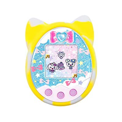 Atlojoys Protective Cover Shell Silicone Case Pet Game Machine Cover for Tamagotchi Cartoon Electronic Pet Game Machine
