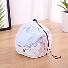 Clothing Care Fine Mesh Bags Thicken Fine Lines Drawstring Laundry Bag Bra Underwear Protective Bags Laundry Supplies (Col...
