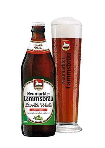 Neumarkter Lammsbräu Bio Lammsbräu Dunkle Weiße Alkoholfrei Bio (1 x 500 ml)