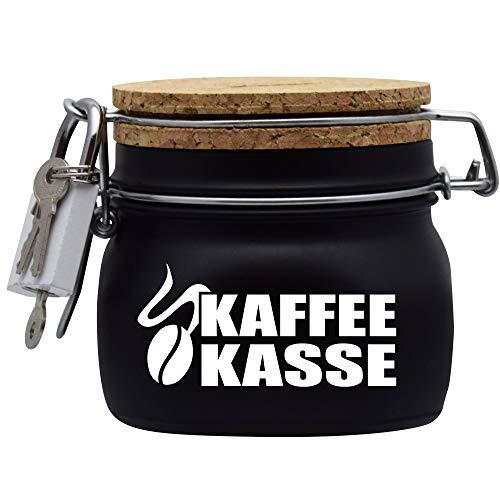 Spardose Kaffeekasse Geld Geschenk Idee Schwarz S