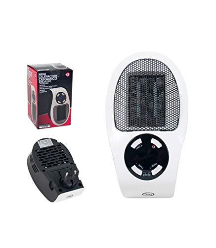Mini Calefactor cerámico con Enchufe 500W