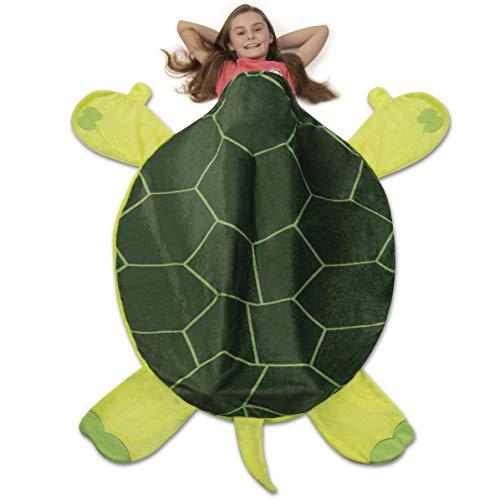 Sea Turtle Sleeping Bag Blanket