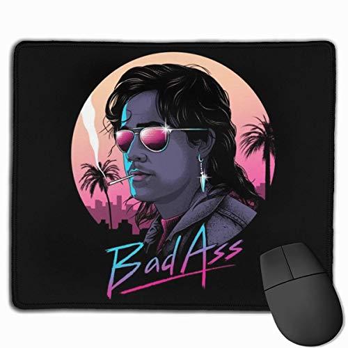 Mauspad Bad Ass Billy Hargrove Fremder mit Schreibtisch Mousepad 11.8X9.8Zoll rutschfeste Gummibasis, Tastaturmatte für Computer/Laptop