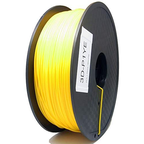 S SIENOC 1 paquete de filamento impresora 3D HIPS 1.75mm Impresora - Con 1 kg de carrete (HIPS Amarillo)