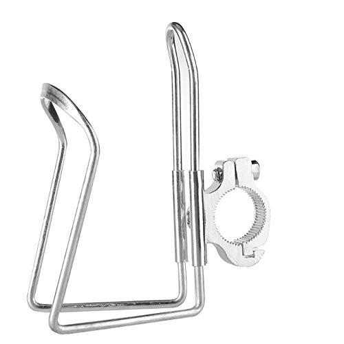 Z.L.F.J.P Accesorios para Bicicletas Bicicletas Montaje del Manillar de Soporte for Botella de aleación de Aluminio Durable del Soporte de la Bici Taza de Agua de la Jaula del Estante con Hebilla