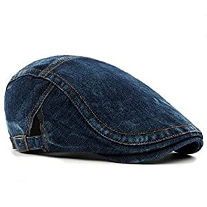 (エターナル リーフ)Eternal Leaf ハンチング 帽子 デニム キャップ FT4704 (03. NA-DB4603)