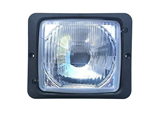Scheinwerfer 12V 24V E20 IP54 mit Fernlicht und Abblendlicht für Traktoren, Schlepper und Landmaschinen