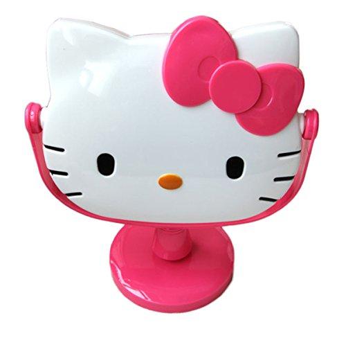 Ikeelife - Espejo de baño con diseño de Hello Kitty, diseño de dibujos animados