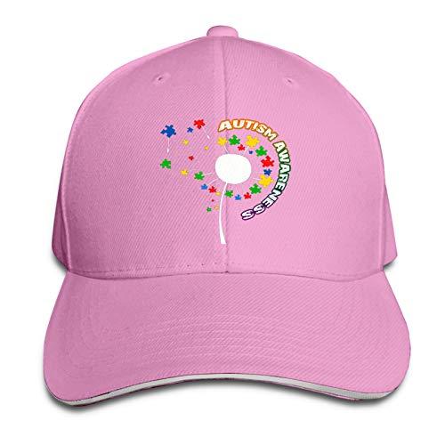 Jopath Autism Awaren-10 Sombrero Ajustable Gorra De Béisbol Lavable Mujer Hombre Headdr Cowboy Denim Hat