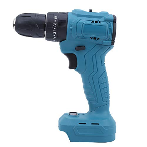 Electric Screwdriver, 21V Portable Handheld Cordless Screwdriver with LED Light, Lithium Battery Rechargeable Power Drill, for Home and Industrial Use