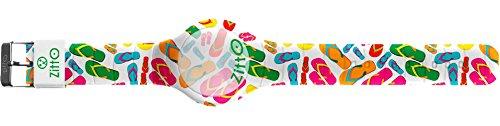 Orologio digitale ZITTO con cinturino in silicone multicolor FLIPFLOPS-MINI-FC