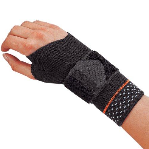 Sporlastic MANUDYN Handgelenkband. rechts Größe M schwarz -col.07057, 1 Stück