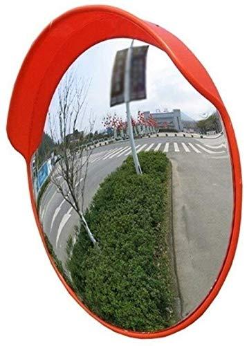 Hfyg Veiligheidsspiegel, verkeersspiegel op de straatrand, anti-regen zonwering, spiegel naar binnen/buiten, convex veiligheidsspiegels 60CM