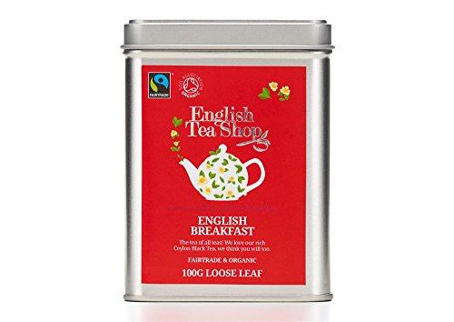 English Tea Shop - English Breakfast, BIO Fairtrade, Loser Tee, 100g Dose