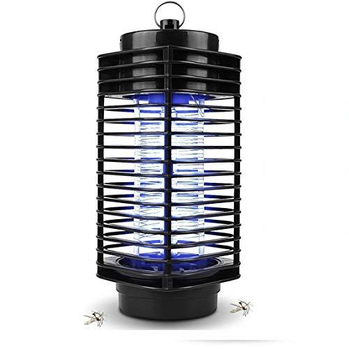 maxineer Lampe Anti-Moustique Électrique UV Moustiques Electrique Efficace Portée 40m², Offert Piège Anti Insecte pour Maison et Jardin