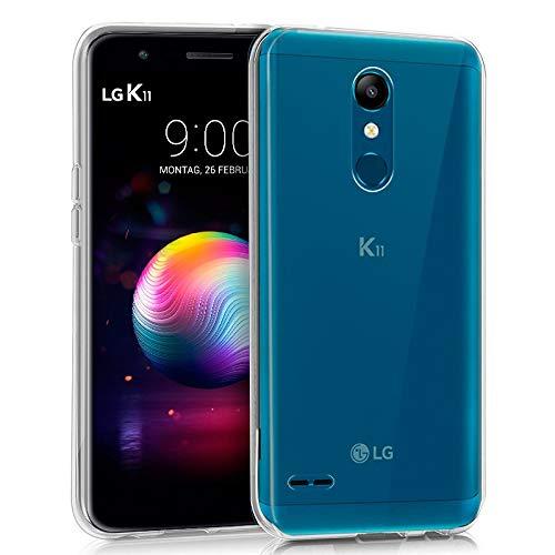 iGlobalmarket Funda Silicona para LG K11 (Transparente)