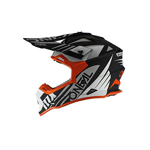 2SRS Helmet SPYDE 2.0 black/white/orange S (55/56cm)