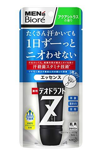 メンズビオレ 薬用デオドラントZ エッセンス アクアシトラスの香り 40g