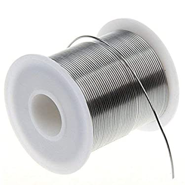 ASHRAFI Hardware Solder Wire with Rosin Core (0.8mm, Sn99%-Ag0.3%-Cu0.7%, Flux 2.0%), Net Weight 0.22lb (1)