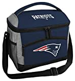 Rawlings NFL Soft Sided Insulated Cooler Bag/Lunch Box, 12-Can Capacity, New England Patriots