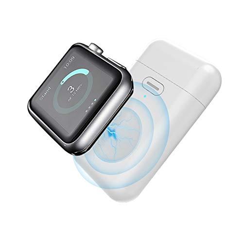 MPWPQ 1000 mAh mini banco de la energía para el reloj 1 2 3 4 5 6 magnético cargador inalámbrico powerbank batería externa para Apple Watch serie 5
