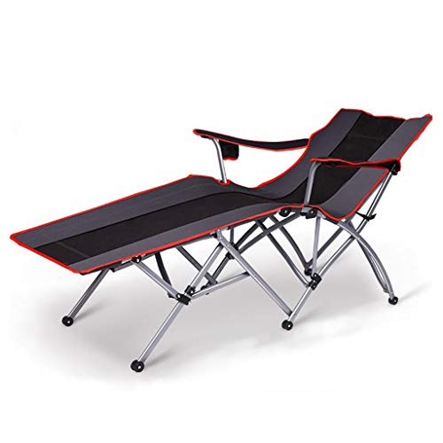 Huahua chair Sonnenliege, Tragbare Outdoor-Stühle Compact Reclining für Camping Wandern Strand Angeln Garten