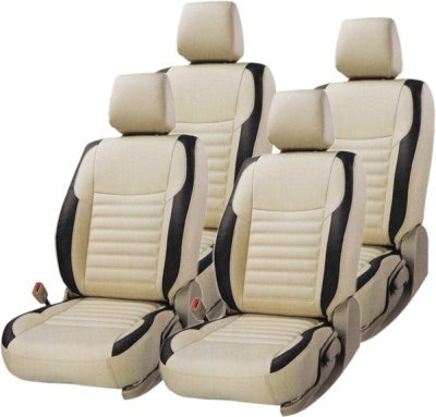 Khushal Leatherite Car Seat Covers Designer Morroco Leather Front and Back Seat Cover Set for Maruti Car 800 Model Year 1997 to 2002 Celerio Back SEAT are Two Part 60 40