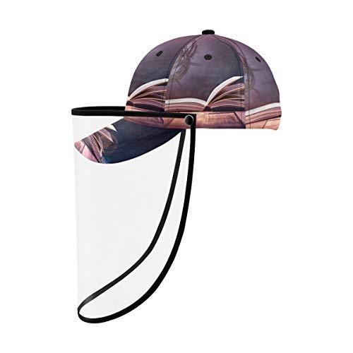 Gorra Protectora Unisex Sombrero de Escudos Protectores, luz...