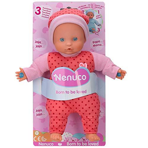Nenuco - Muñeco Blandito 3 Funciones, hace sonidos de bebé