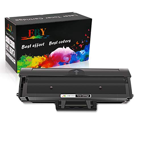 EBY MLT-D101S Toner Cartuccia Compatibile per Samsung MLT-D101 MLT D101S con Samsung Xpress ML-2160 ML-2161 ML-2165 ML-2162 ML-2165W ML-2168 SCX-3400 SCX-3400F SCX-3401 SCX-3405 (Nero)