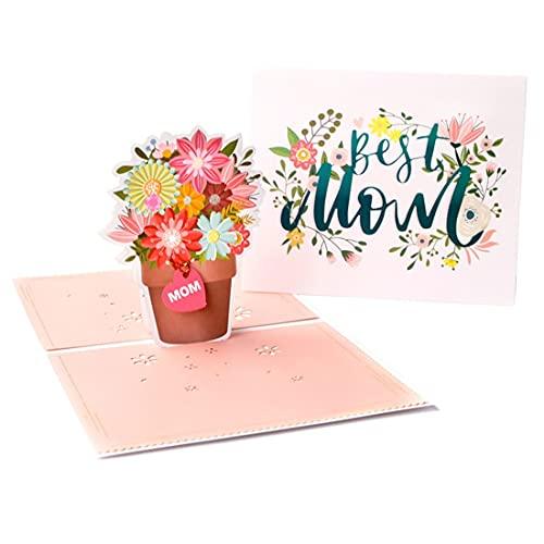 TX Tarjeta del Dia de la Madre, Tarjeta de felicitación 3D,Tarjeta de felicitación, Tarjetas de Boda, cumpleaños, Tarjeta de Origami del día de San Valentín, Regalo de cumpleaños, día de la Madre