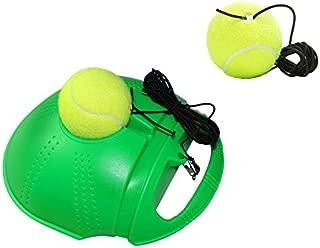 Springen Tennis Practice Training Sport With 2 Balls