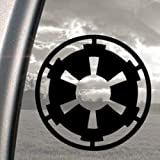 Star Wars Black Decal Galactic Empire Truck Window Sticker