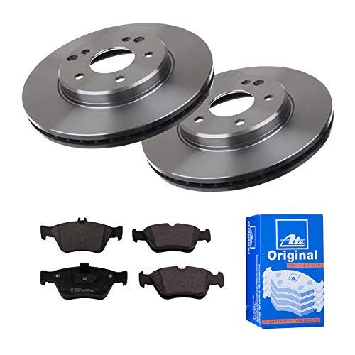 2 Bremsscheiben Ø288 Belüftet + Bremsbeläge ATE Vorne P-A-01-00615 Bremsanlage