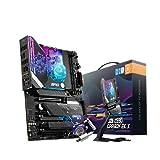 MSI MPG Z590 CARBON EK X - Placa Base ATX, para procesadores Intel Core 11th Gen, LGA 1200 - RGB Monoblock, 16 Duet Rail 75A VRM, DDR4 Boost (5333MHz/OC), 2 x PCIe 4.0 x16, 3 x M.2 Gen4/3 x4, Wi-Fi 6E